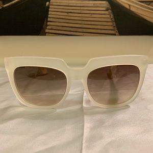 Balenciaga Clear Sand/Brown Gradient Sunglasses
